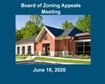 Board of Zoning Appeals Meeting - Amended